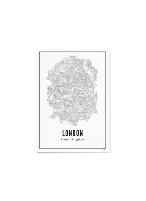 Wijck Poster London City 30/40