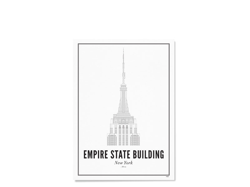 Wijck Poster New York Empire State Building 21/30
