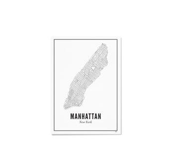 Wijck Poster New York Manhattan 21/30