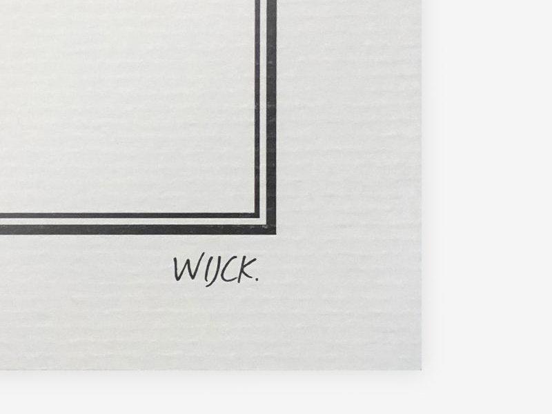 Wijck Poster New York Manhattan 30/40