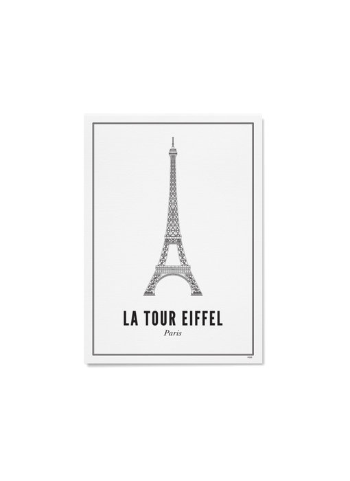 Wijck Poster Paris Eiffel Tower 30/40