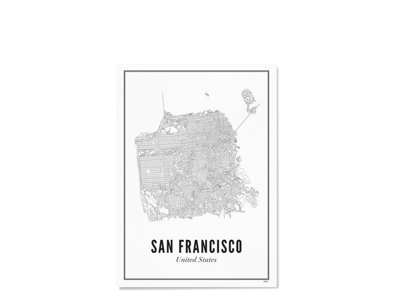Wijck Poster San Francisco City 21/30