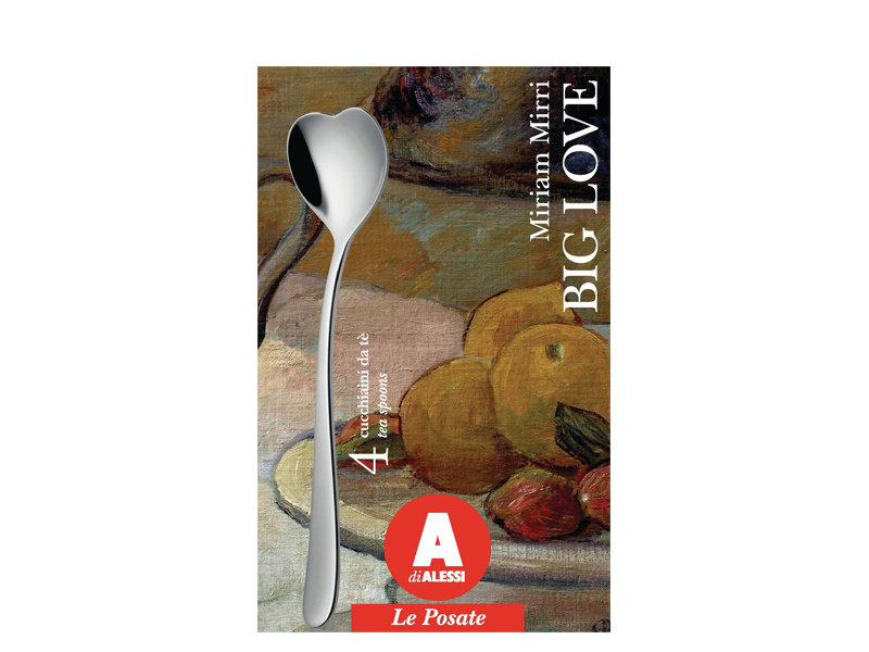 Alessi Big Love Teaspoons 4 pcs.
