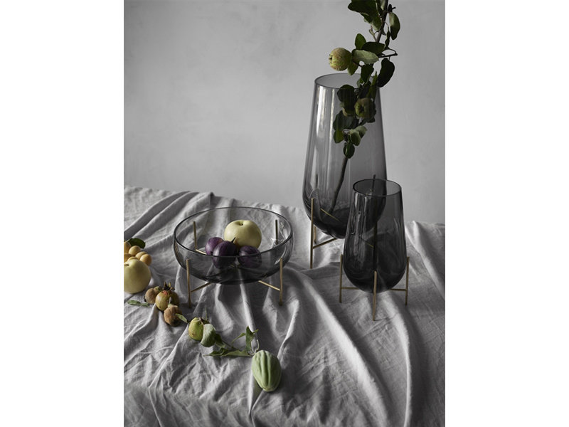 Menu Echasse Vase Small Clear