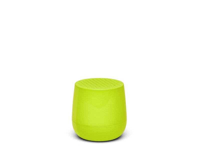 Lexon Mino Speaker Glossy Yellow Fluo