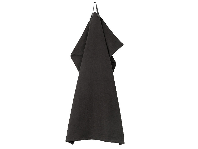 Juna Ra Tea Towel Black