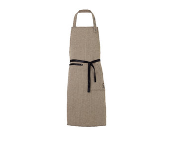 Juna Ra Apron Dark Grey