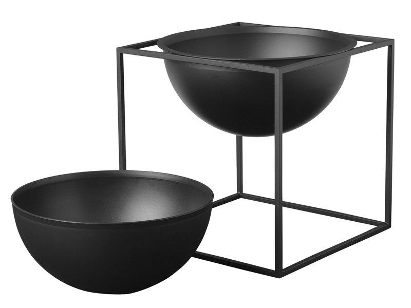 By Lassen Kubus Bowl Inlay Large Black