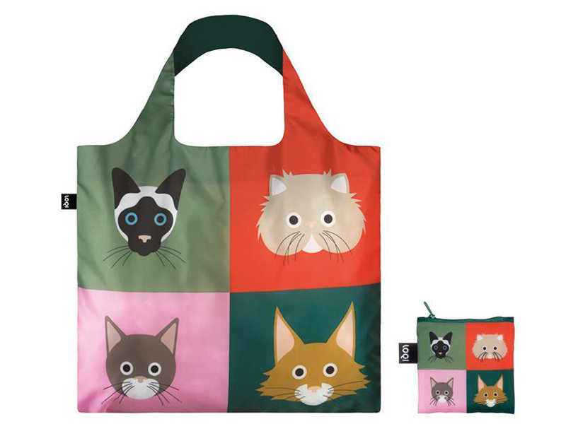 LOQI Bag Stephen Cheetham Cats