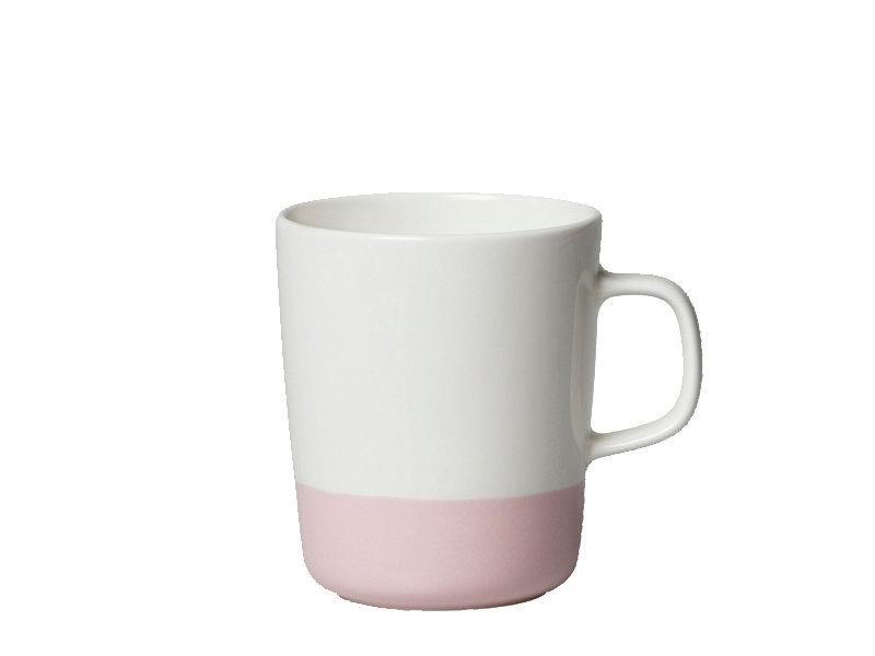 Marimekko IGC Oiva Puolikas Mug White/Pink 2,5 dl