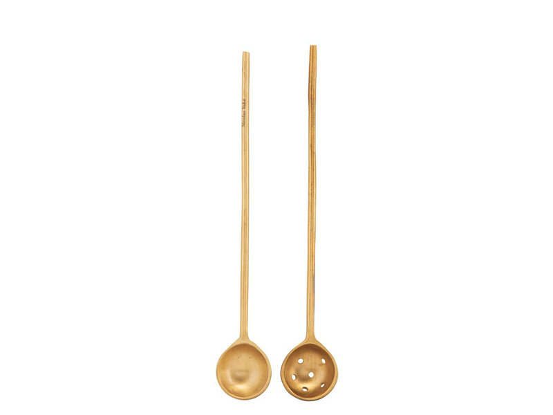 Nicolas Vahé Spoon Brass Set 2 pcs.