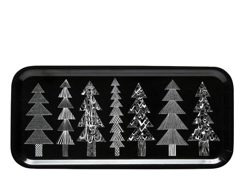 Marimekko IGC Oiva Kuusikossa Plywood Tray 15/32 cm