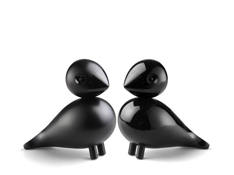 Kay Bojesen Lovebirds Black 2 pcs.