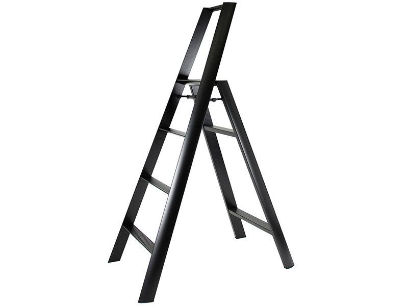 Hasegawa Lucano ML 4 Step Ladder Black