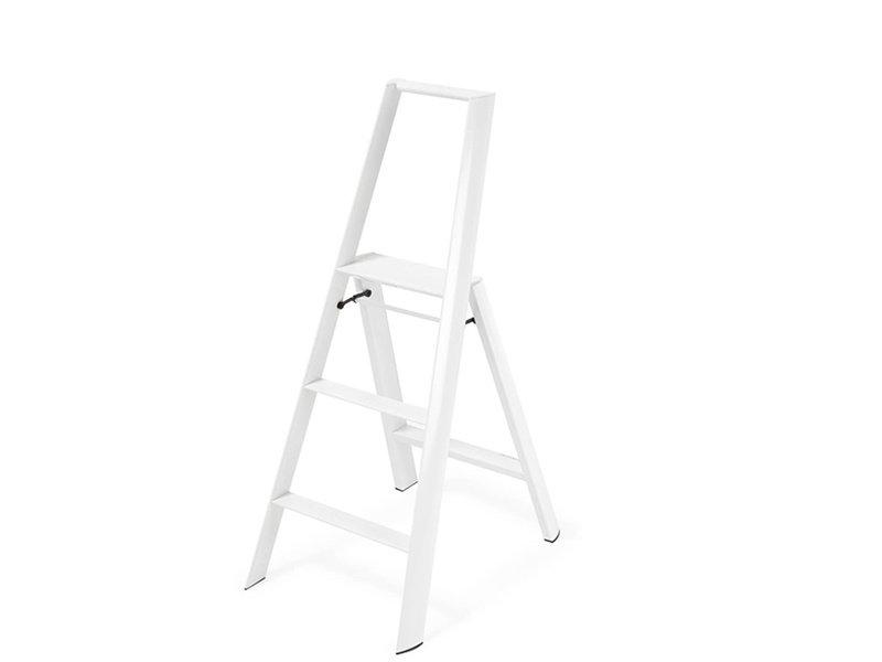 Hasegawa Lucano ML 3 Step Ladder White