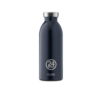 24 Bottles Clima Bottle 500 ml Deep Blue