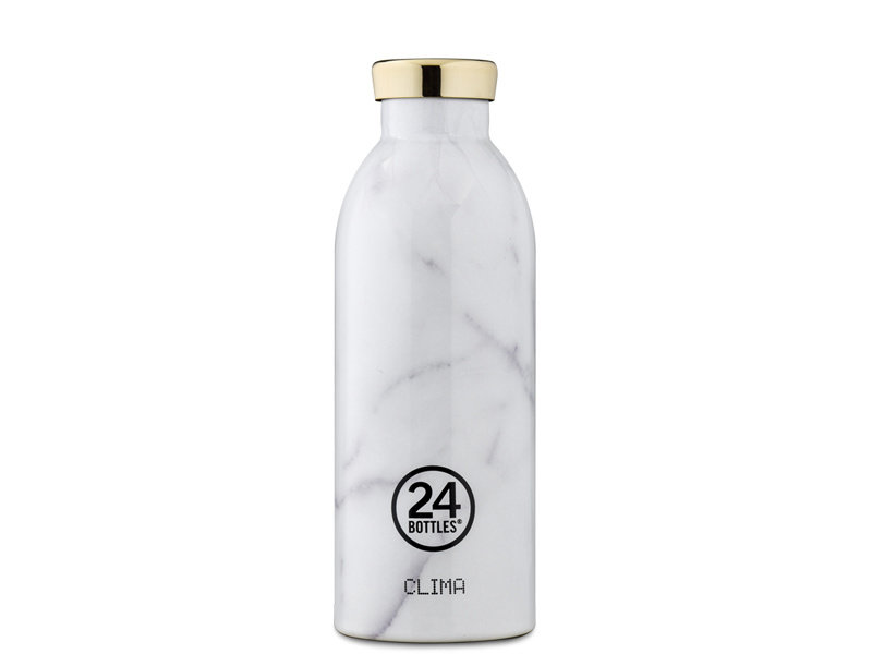 24 Bottles Clima Bottle 500 ml Carrara