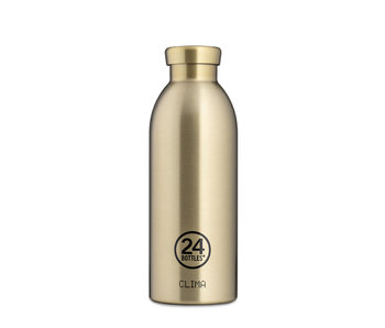 24 Bottles Clima Bottle 500 ml Prosecco Gold