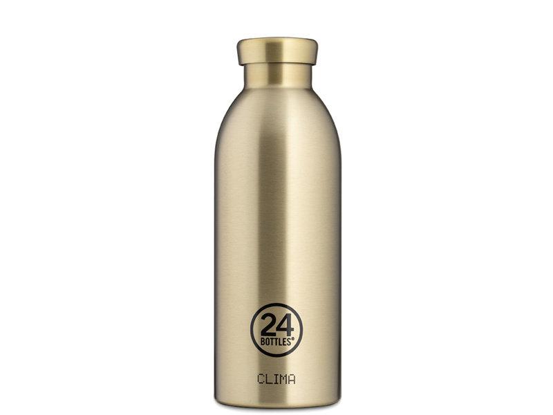 24 Bottles Clima Bottle 500 ml Prosecco Gold