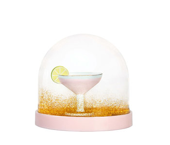 &Klevering Wonderball Cocktail Pink Gold Glitter
