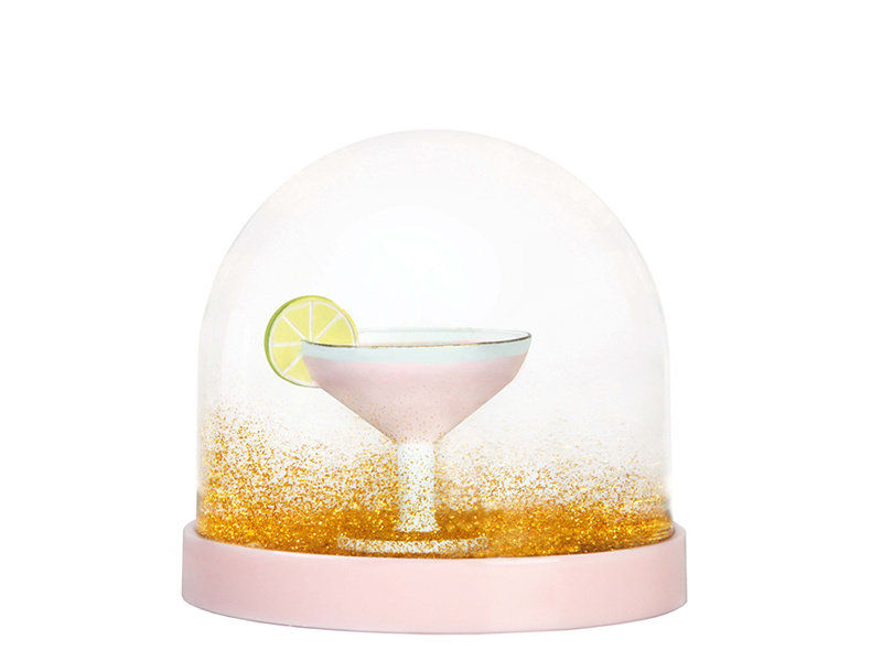 &Klevering Wonderball Cocktail Pink Gold Glitter