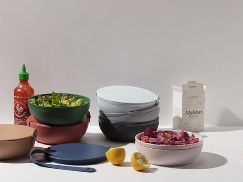 W&P Design Porter Bowl Plastic Charcoal