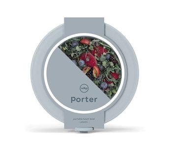 W&P Design Porter Bowl Plastic Slate