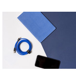 Usbepower Fab XXL Cable 2,5m USB-C Blue