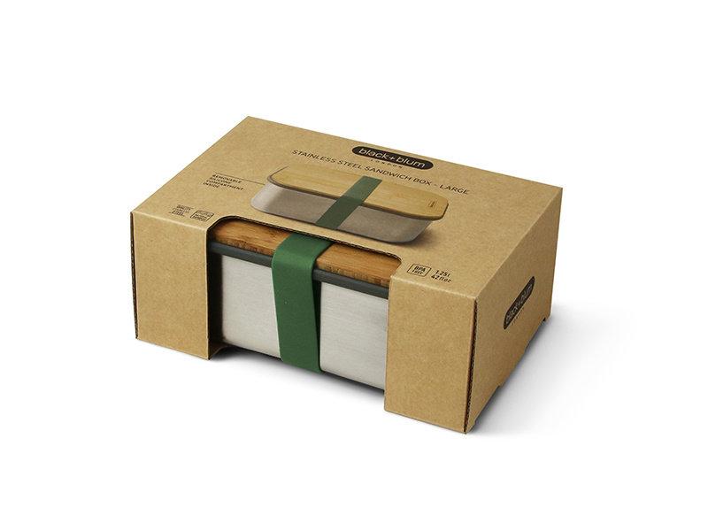 Black+Blum Sandwich Box Large Olive