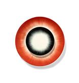 Serax Dé Bord Off-White/Red VAR2 14 cm
