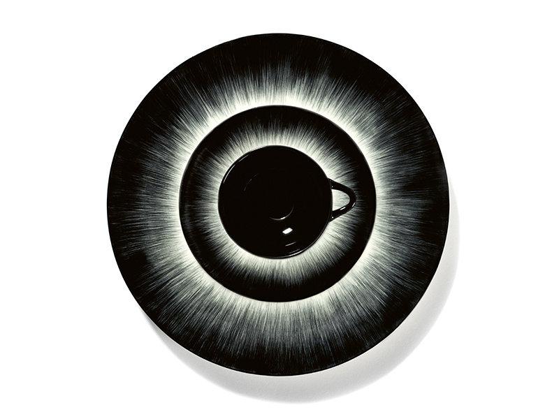 Serax Dé Bord Off-White/Black VAR3 24 cm