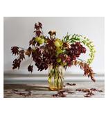 Holmegaard Primula Vase Amber 25 cm