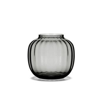 Holmegaard Primula Vase Smoke 12 cm