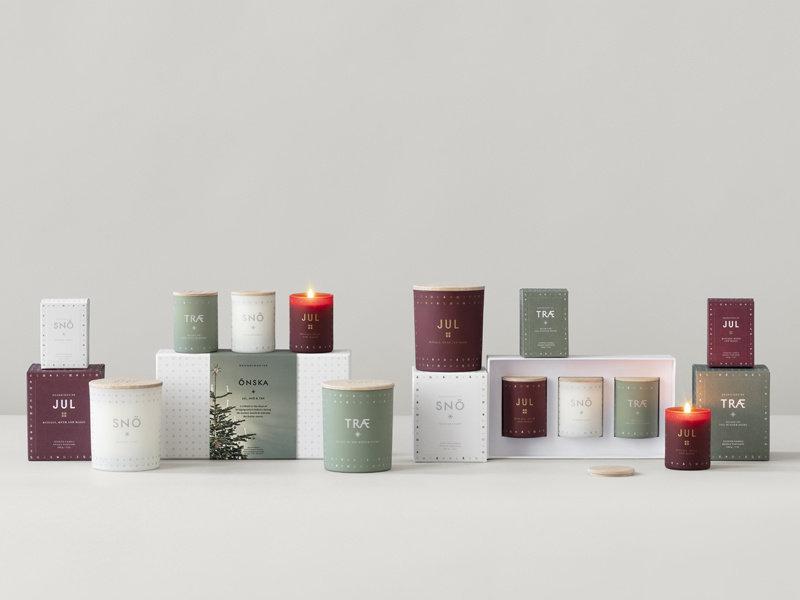 Skandinavisk Træ Scented Candle 200 g