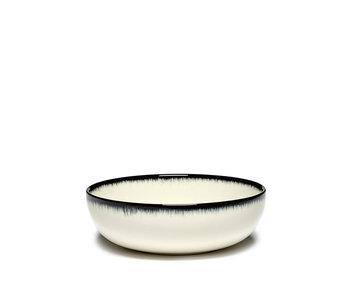 Serax Dé Bord Hoog Off-White/Black VAR A 13 cm