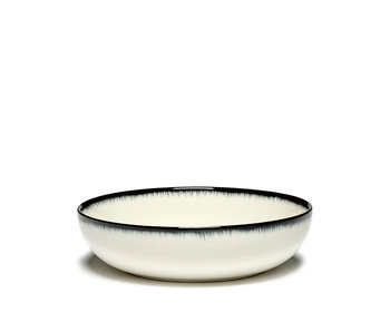 Serax Dé Bord Hoog Off-White/Black VAR A 15,5 cm