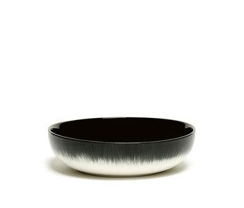 Serax Dé Bord Hoog Off-White/Black VAR B 15,5 cm