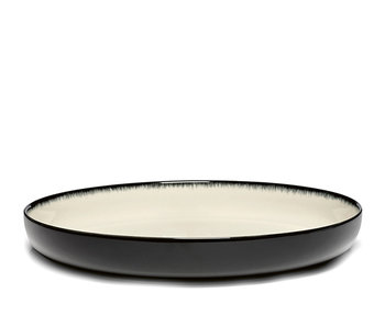 Serax Dé Bord Hoog Off-White/Black VAR D 27 cm