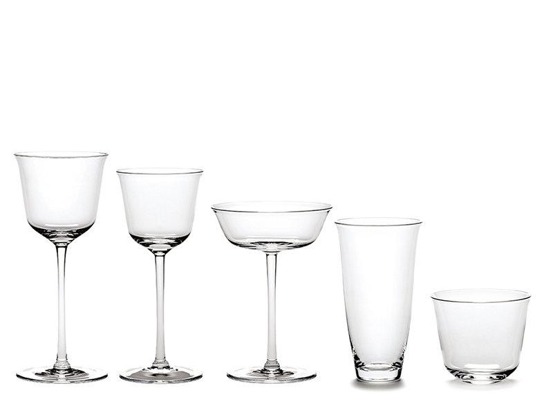 Serax Grace Wit Wijnglas 15 cl Transparant