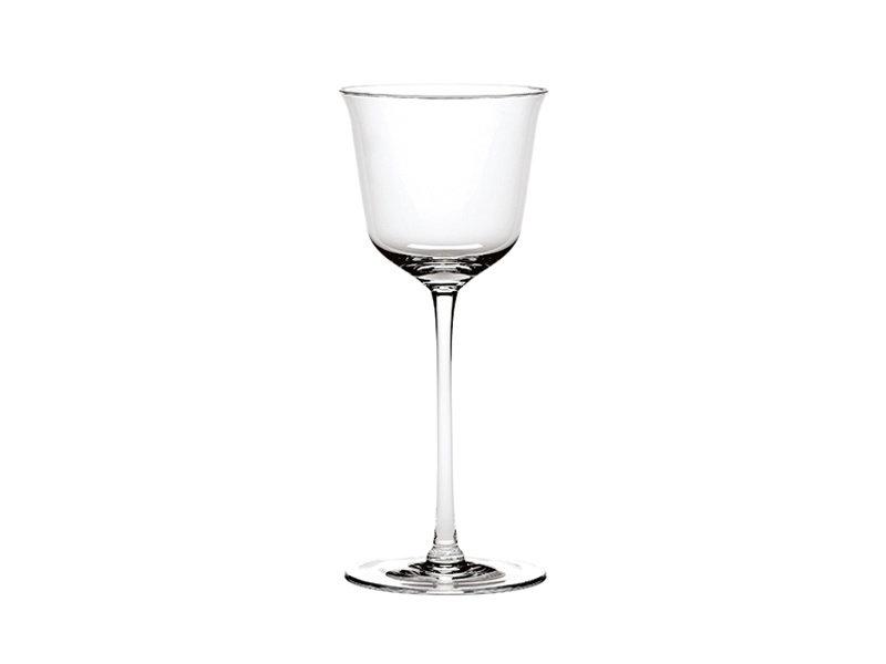 Serax Grace Rood Wijnglas 20 cl Transparant