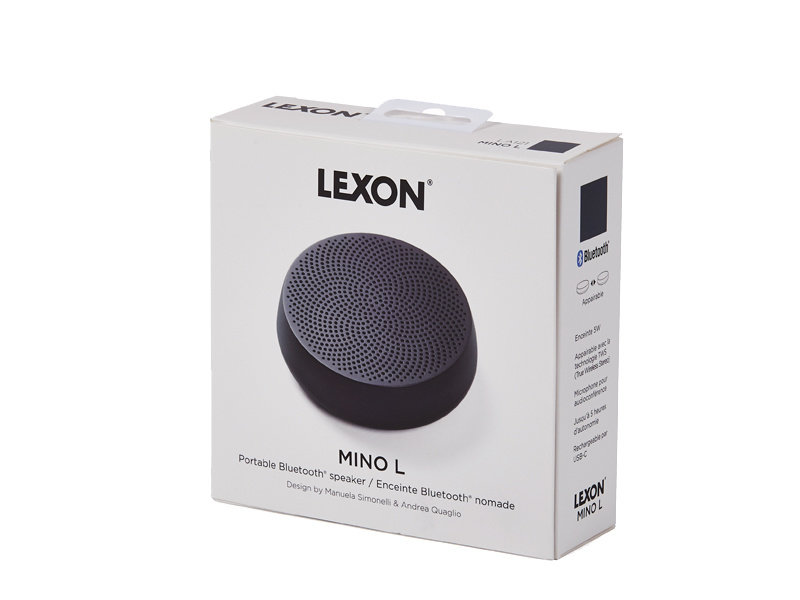 Lexon Mino L Speaker Gun Metal