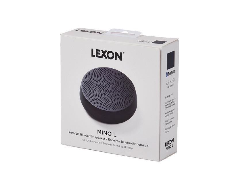 Lexon Mino L Speaker Black