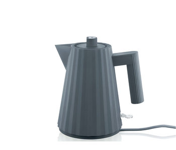 Alessi Plissé Electric Kettle 1 l Grey