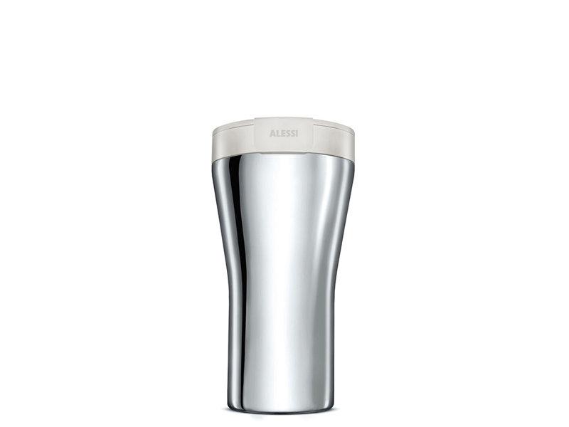 Alessi Caffa Travel Mug White
