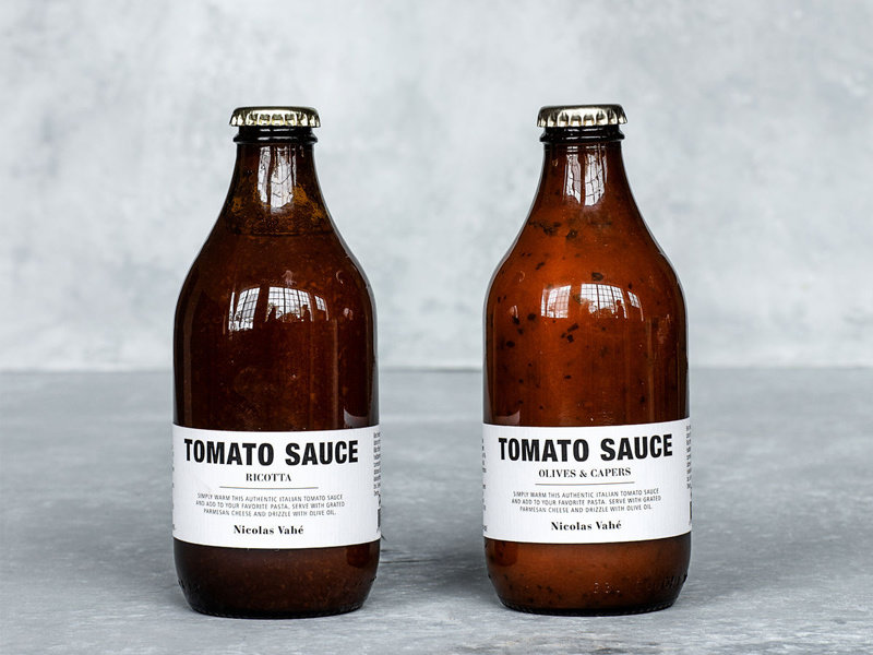 Nicolas Vahé Tomato Sauce Ricotta