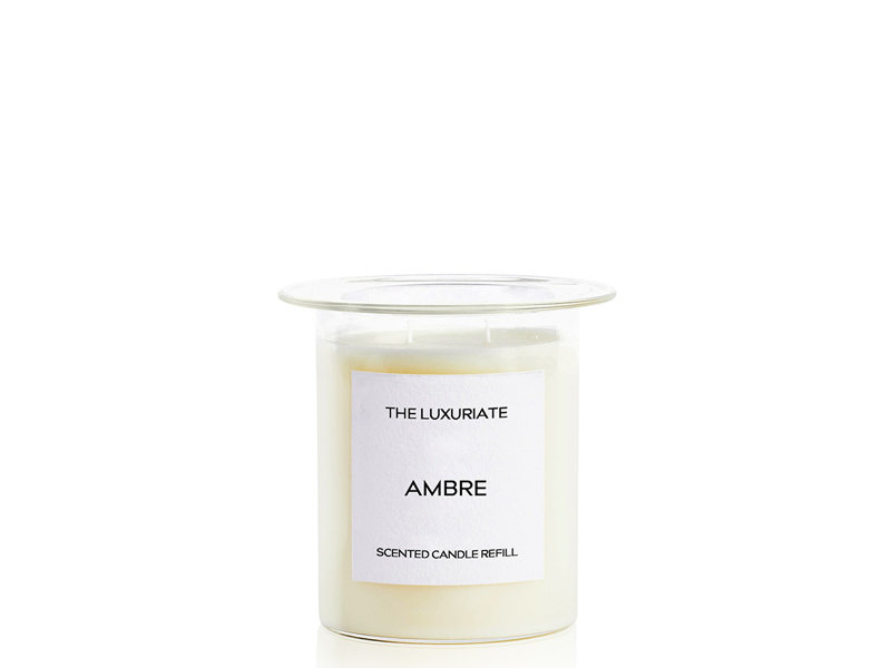 The Luxuriate Ambre Candle Refill