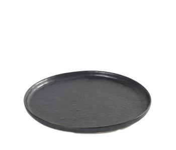 Serax Pure Bord Zwart 21,5 cm