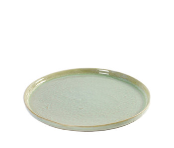 Serax Pure Bord Aquagroen 21,5 cm