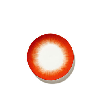 Serax Dé Bord Off-White/Red VAR5 24 cm