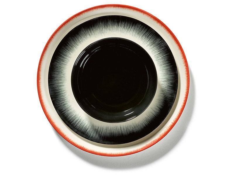Serax Dé Bord Off-White/Red VAR5 28 cm
